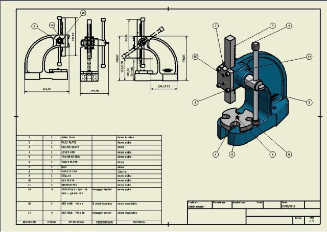 planos del arbor press